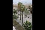 Exterior view to Plaza Reial Las Ramblas Barcadi Apartment